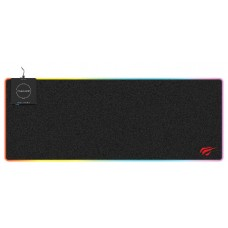 Mousepad Gamer Havit MP902 RGB, Grande, Black