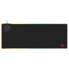 Mousepad Gamer Havit MP902 RGB, Grande, Black