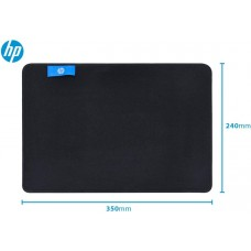 Mousepad Gamer HP MP3524, Pequeno, Prova D'agua, Black, 30628