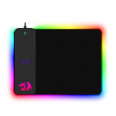 Mousepad Gamer Redragon Crater, QI Wireless, Médio, RGB, Black, P028