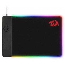 Mousepad Gamer Redragon P025 QI Sem Fio Grande RGB