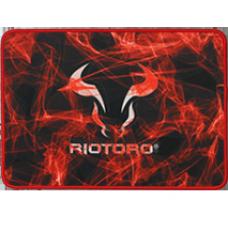 Mousepad Gamer Riotoro, Vyron Smokey Bull, Grande, Black, MPAD-SB-S