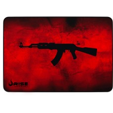 Mousepad Gamer Rise Mode AK47 Speed, Grande, Red, RG-MP-05-AKR