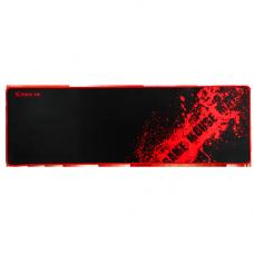 Mousepad Gamer XTRIKE-ME MP-201, Grande, Prova D'agua, Black/Red, MP201BK