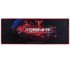 Mousepad Gamer XTRIKE-ME MP-204, Grande, Prova D'agua, Black/Red, MP204