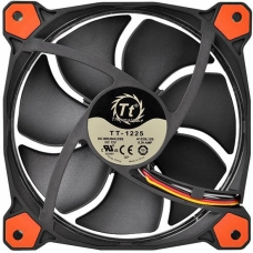 Kit Fan com 3 Unidades Thermaltake Riing 12, LED Red 120mm, CL-F055-PL12RE-A