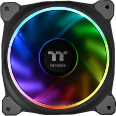 Kit Fan com 5 Unidades Thermaltake Riing Plus 14, RGB 140mm, CL-F057-PL14SW-A