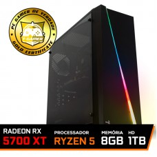 Pc Gamer Tera Edition AMD Ryzen 5 3500 / Radeon NAVI RX 5700 XT 8GB / DDR4 8GB / HD 1TB / 600W