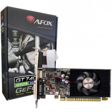Placa de Vídeo Afox GeForce GT 740, 4GB, GDDR3, 128bit, AF740-4096D3L3
