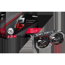 Placa de Vídeo ASRock AMD Radeon RX 5600 XT Phantom Gaming D2 OC, 6GB, GDDR6, 90-GA1WZZ-00UANF