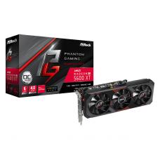 Placa de Vídeo ASRock AMD Radeon RX 5600 XT Phantom Gaming D3 OC, 6GB, GDDR6, 90-GA1VZZ-00UANF