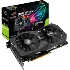 Placa de Vídeo Asus GeForce GTX 1650 Rog Strix Gaming OC, 4GB GDDR5, 128Bit, ROG-STRIX-GTX1650-O4G-GAMING