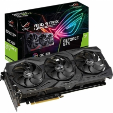 Placa de Vídeo Asus, GeForce, GTX 1660 Ti Rog Strix Gaming OC, 6GB, GDDR6, 192Bit, ROG-STRIX-GTX1660TI-O6G-GAMING