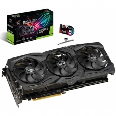 Placa de Vídeo Asus GeForce GTX 1660 Ti Rog Strix Gaming OC, 6GB GDDR6, 192Bit, ROG-STRIX-GTX1660TI-O6G-GAMING