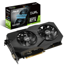 Placa de Vídeo Asus GeForce RTX 2060 Advanced EVO Dual, 6GB, GDDR6, 192bit, DUAL-RTX2060-A6G-EVO
