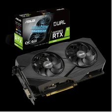 Placa de Vídeo Asus GeForce RTX 2060 OC EVO Dual, 6GB, GDDR6, 192bit, DUAL-RTX2060-O6G-EVO