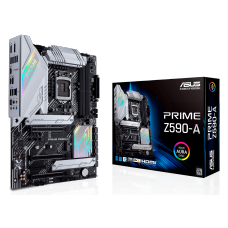 Placa Mãe Asus Prime Z590-A, Chipset Z590, Intel LGA 1200, ATX, DDR4, 90MB16D0-M0EAY0