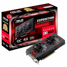 Placa De Vídeo Asus Radeon Expedition RX 570 OC 4GB EX-RX570-O4G GDDR5
