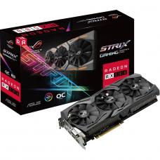 Placa de Vídeo Asus ROG Strix Radeon RX 580 OC, 8GB, GDDR5, 192bit, ROG-STRIX-RX580-O8G-GAMING