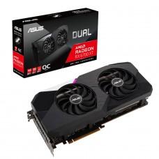 Placa de Vídeo Asus Radeon RX 6700 XT Dual, OC, 12GB, GDDR6, FSR, Ray Tracing, 90YV0G83-M0NA00