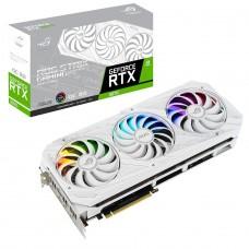 Placa de Vídeo Asus, ROG Strix, Geforce RTX 3070 OC, White Edition, 8GB, GDDR6, 256bit, ROG-STRIX-RTX3070-O8G-WHITE