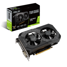 Placa de Vídeo Asus, TUF Gaming GeForce, GTX 1650 OC Dual, 4GB, GDDR6, 128Bit, TUF-GTX1650-O4GD6-GAMING