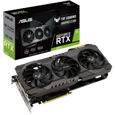 Placa de Vídeo Asus, TUF Gaming, Geforce RTX 3070 OC, 8GB, GDDR6, 256bit, TUF-RTX3070-O8G-GAMING