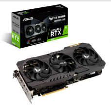 Placa de Vídeo Asus, TUF, Geforce, RTX 3090, 24GB, GDDR6X, 384bit, TUF-RTX3090-24G-GAMING