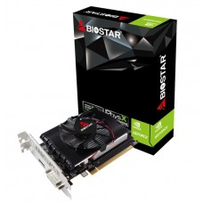 Placa de Vídeo Biostar, GeForce, GT 1030, 2GB, GDDR5, 64bit, VN1035TBX6-TB2RA-BS2