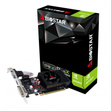 Placa de Vídeo Biostar, GeForce, GT 710, 2GB, GDDR3, 64bit, VN7103THX6-TBARL-BS2
