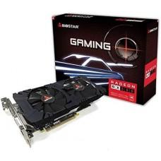 Placa de Video Biostar, Radeon, RX 580, 8GB, GDDR5, 256Bit, VA5805RV82-TBSRH-BS2 - Open Box