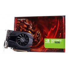 Placa de Vídeo Colorful, GeForce, GT 1030, 2GB, GDDR5, 64Bit, GT1030 2G V3-V