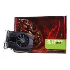 Placa de Vídeo Colorful, GeForce, GT 1030, 2GB, SDDR4, 64Bit, GT1030 2G V4-V