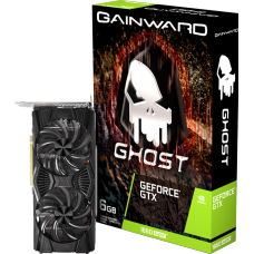 Placa de Vídeo Gainward GeForce GTX 1660 Ghost OC Dual, 6GB GDDR5, 192Bit - Open Box