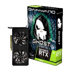 Placa de Vídeo Gainward, GeForce RTX 3060 Ti Ghost, 8GB, GDDR6, 256Bit, LHR, NE6306T019P2-190AB