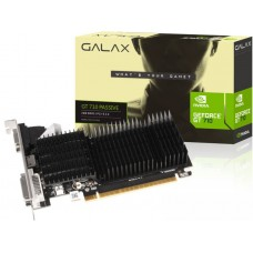 Placa de Vídeo Galax GeForce GT 710, 2GB DDR3, 64Bit, 71GPF4HI00WN
