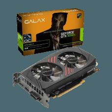 Placa de Vídeo Galax GeForce GTX 1050 Ti, 1 Click, OC, Dual, 4GB GDDR5, 128Bit 50IQH8DSQ3CC
