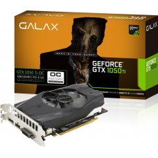 Placa De Vídeo Galax Geforce GTX 1050 Ti Oc 4GB 50IQH8DSN8OC GDDR5 Pci-Exp