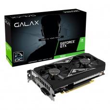 Placa de Vídeo Galax, GeForce, GTX 1650 EX PLUS, 4GB, 1-Click OC, GDDR6, 128-bit, 65SQL8DS93E1