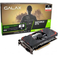 Placa de Vídeo Galax GeForce GTX 1660 Ti Prodigy, 6GB GDDR6, 192Bit, 60IRL7DS46PY