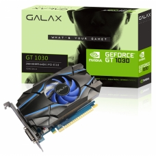 Placa de Vídeo Galax GeForce GT 1030 2GB 30NPH4HVQ4ST GDDR5 PCI-EXP