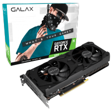 Placa de Video GALAX, GeForce RTX 3060 (1-Click OC), 12GB, GDDR6, 192bit, 36NOL7MD1VOC