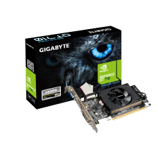 Placa de Vídeo Gigabyte GeForce GT 710, 1GB, DDR3, 64bit, GV-N710D3-2GL