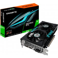 Placa de Video Gigabyte, GeForce, GTX 1650 D6 Eagle OC 4G, Dual, 4GB, GDDR6, 128Bit, GV-N1656EAGLE OC-4GD - Open Box