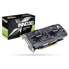 Placa de Vídeo Inno3D GeForce GTX 1650 Super Twin X2 OC, 4GB GDDR6, 128Bit, N165S2-04D6X-1720VA31