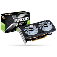 Placa de Vídeo Inno3D GeForce GTX 1660 Super Twin X2 OC RGB, 6GB GDDR6, 192Bit, N166S2-06D6X-1712VA15LB