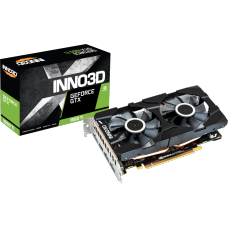 Placa de Vídeo Inno3D GeForce GTX 1660 Ti Twin X2, 6GB GDDR6, 192Bit, N166T2-06D6-1710VA15