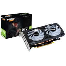 Placa de Vídeo Inno3D GeForce RTX 2060 Super Twin X2 OC RGB, 8GB GDDR6, 256Bit, N206S2-08D6X-1710VA15LB