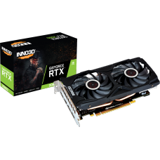 Placa de Vídeo Inno3D GeForce RTX 2060 Twin X2, 6GB GDDR6, 192Bit, N20602-06D6-1710VA15L