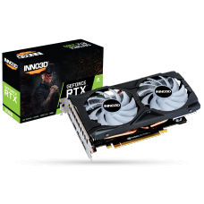 Placa de Vídeo Inno3D GeForce RTX 2060 Twin X2 OC RGB, 6GB GDDR6, 192Bit, N20602-06D6X-1710VA15LB